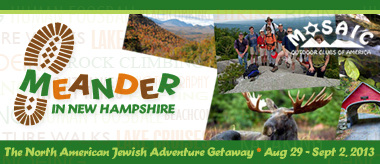 2013 North American Jewish Adventure Getaway